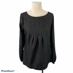ALFRED SUNG Black Polyester Crew Neck Shirt